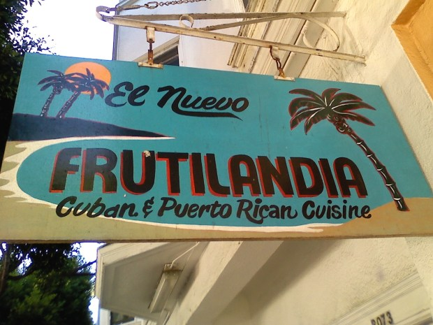 El Nuevo Frutilandia located on 3077 24th street is often frequented by Giants Players