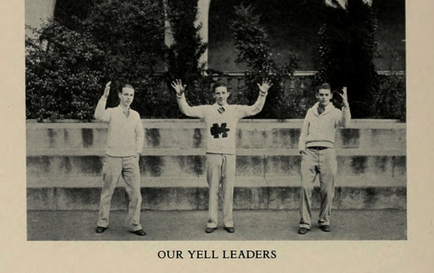 Whatever a Yell Leader was, it must have been great.