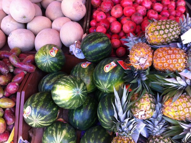Produce at Mi Ranchito on Mission Street.