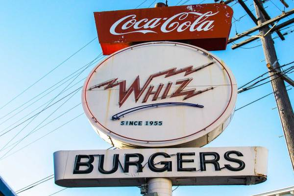 Whiz Burgers Drive-In has served up real milkshakes and homemade style burgers since 1955.
