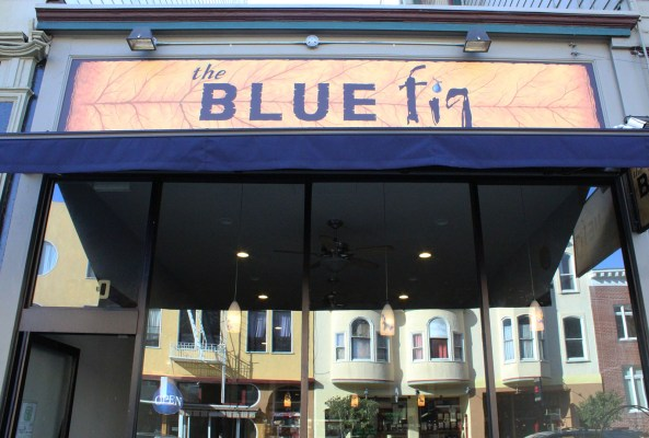 The Blue Fig Restaurant.