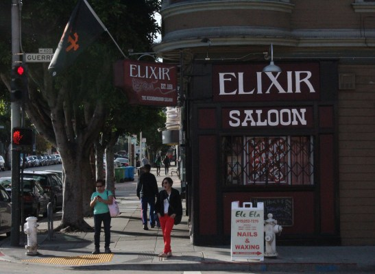 The Elixir Saloon.