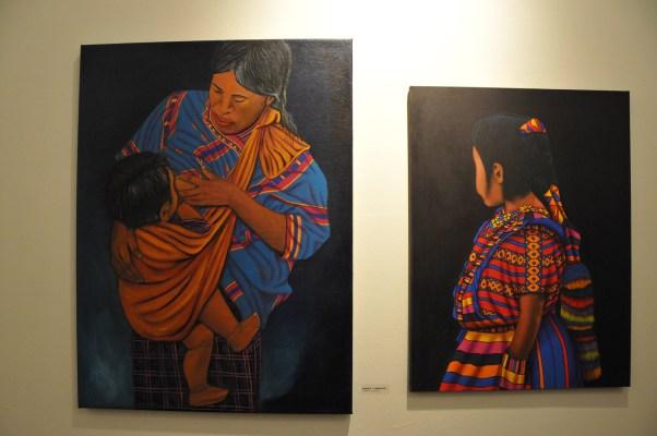 Traditional indigenous art by Roberto Y. Hernandez. Photo by Alejandro Rosas.