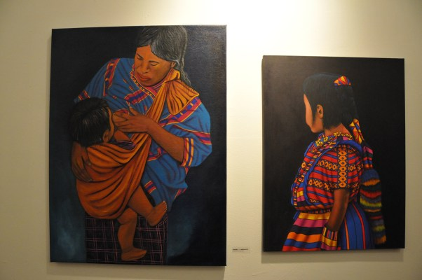 Traditional indigenous art by Roberto Y. Hernandez. Photo by Alejandro Rosas.