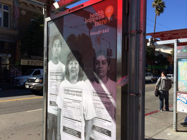 There are 2.6 million undocumented Californians; 1 million of them lack access to preventive health care. Photo by Lynne Shallcross