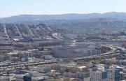 Major freeways zip through San Francisco, causing high levels of pollution. eric