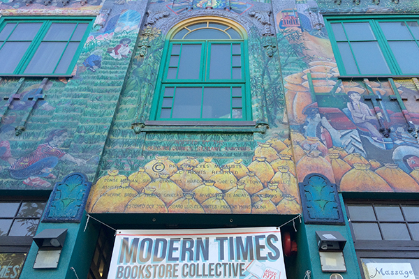 Modern Times Bookstore Collective on 24th Street.