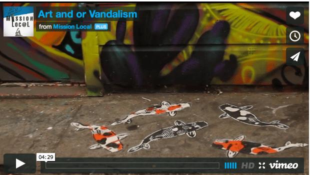 Explorping issues around street art.