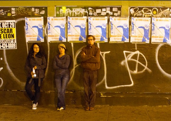 A guerrilla marketing campaign paired wheat pasting with content. Mission Local's experiment will continue.