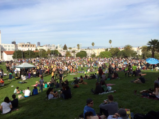 Dolores Park, Saturday, March 8