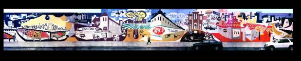 "Original Mural <a href=""http://www.brianbarneclo.com/"">Brian Barneclo</a>"