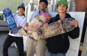 Skater teens, in the Mission. By Keli Dailey