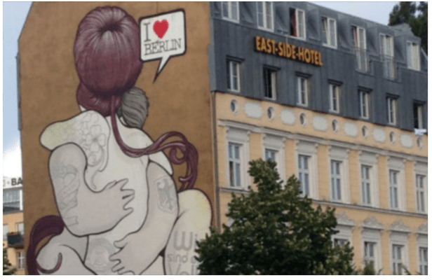 The murals of Berlin. By Rigoberto Hernandez.