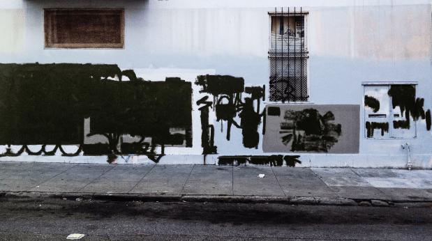 Post Graffiti Wall by Ed Brownson