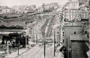 Construction of the J Line in Dolores Park | Circa 1916 | W3326 | Horace Chaffee, Board of Public Works Photographer SFMTA