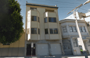 This is the one house in the Mission affordable to households making San Franciso median income. Image from Google Street View.