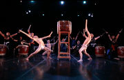 Taiko Dojo drummers at Dance Mission Theater. Photo by Yichen Guo