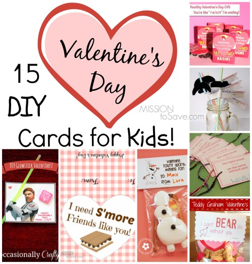 Medium Of Valentines Day Cards For Kids