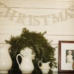 Glitter Christmas Banner