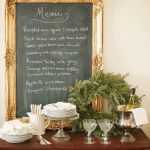 Frame and Chalkboard