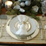 Silver & White Table