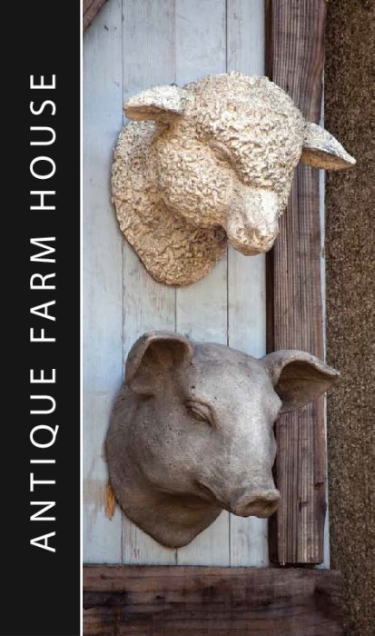 lamb-pig-head-antique-farmhouse