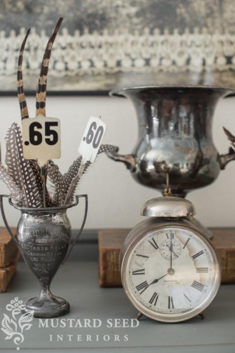Miss Mustard Seed  - Trophies & Alarm Clock