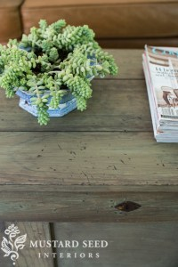 Pottery Barn Inspired Rustic Paint Finish