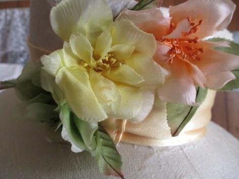 Vintage 1940's silk flowers