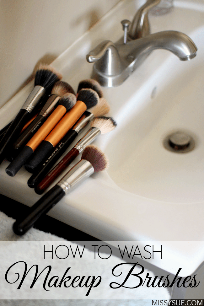 How to wash makeup