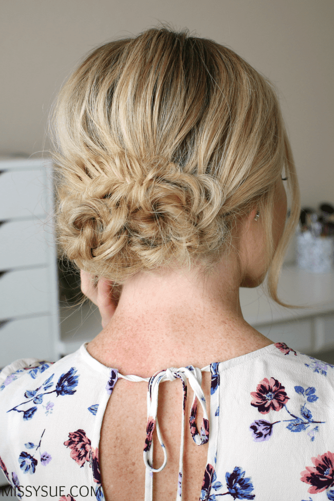 fishtail-braided-low-bun-hair-tutorial