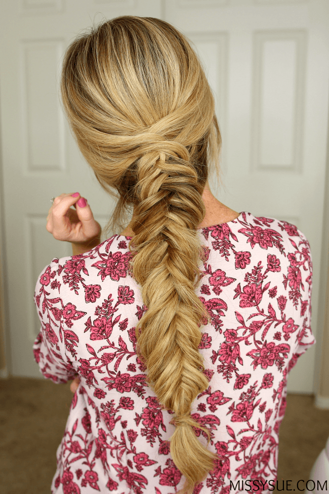Fancy Dutch Fishtail Braid