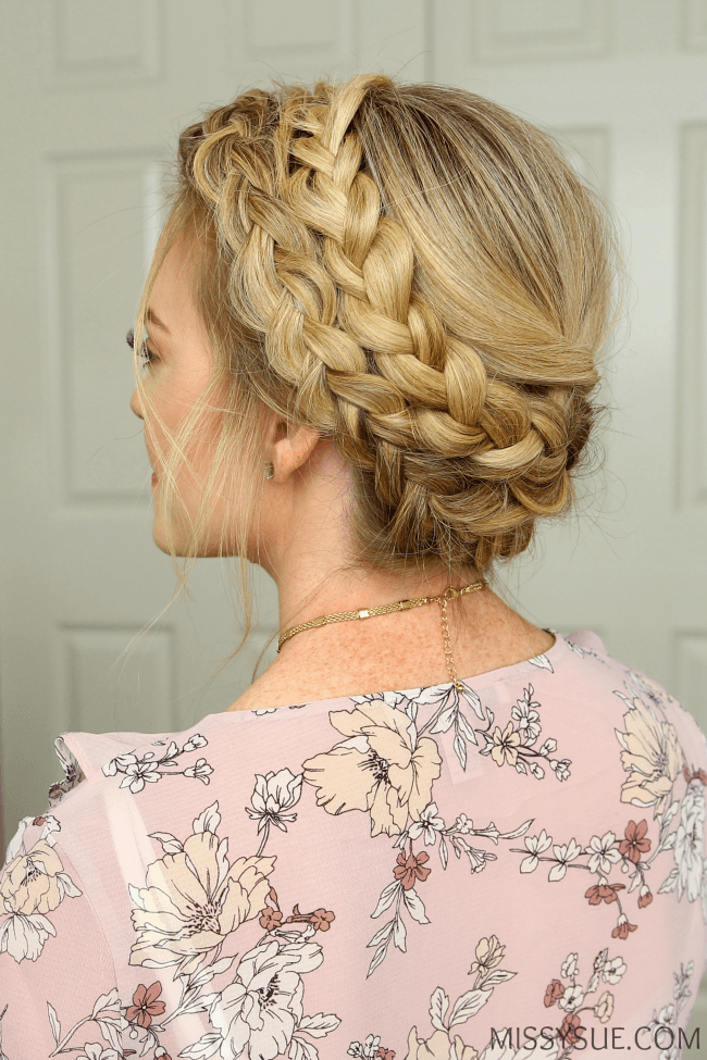 Dutch Milkmaid Braids