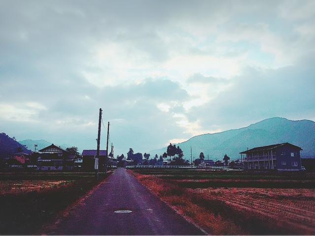 今朝の魚沼市