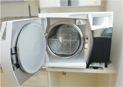 Bクラス滅菌器の写真