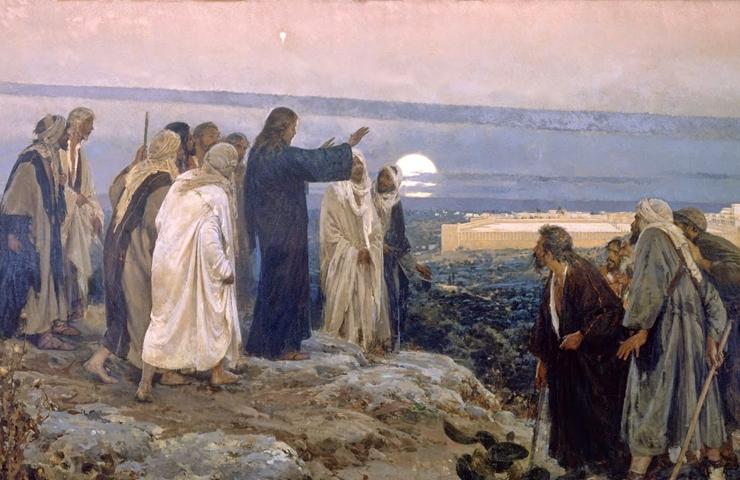 Oración del sábado: «El Hijo del hombre va a ser entregado en manos de los hombres»