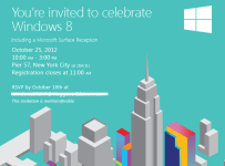 Invitación Windows 8