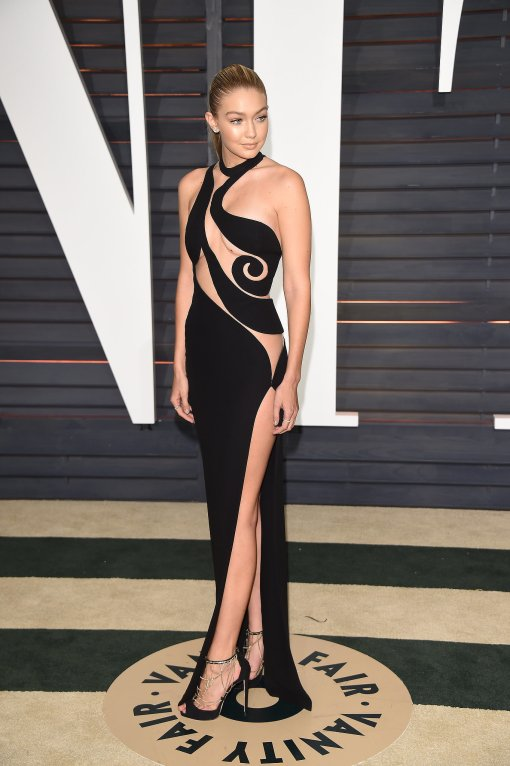 Gigi Hadid vestido after party oscar 2015 3