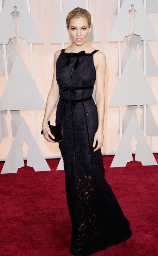 Sienna Miller Oscar 2015