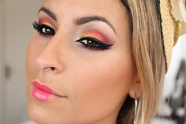 Raka Minelli maquiagem festa junina