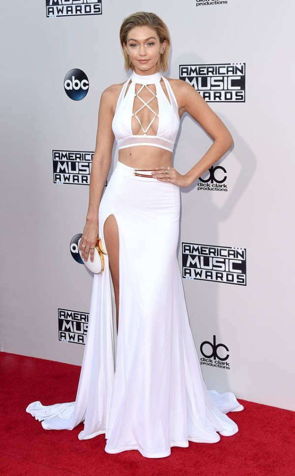 Gigi Hadid AMA American music Awards 2015