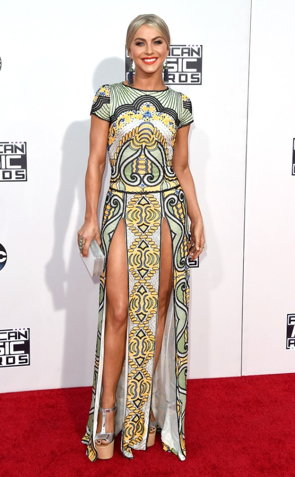 Julianne Hough AMA American music Awards 2015