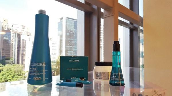 Resenha Linha L'Oréal Pro Fiber Restore