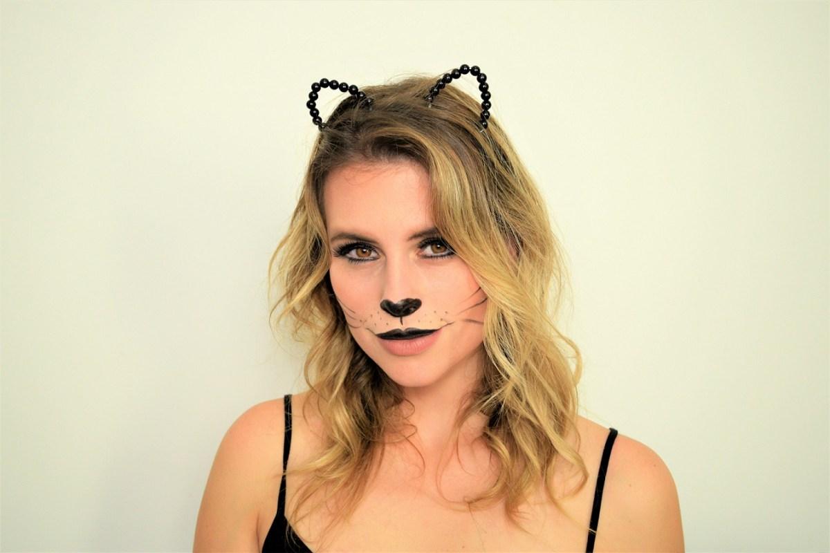 Tutorial de carnaval: maquiagem de gatinha!