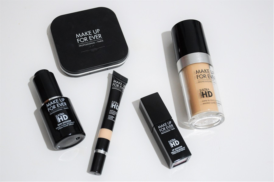 pele de cinema produtos ultra HD make up forever