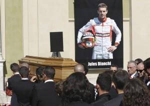 Jules Bianchi's Funeral