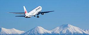 雪山,飛行機