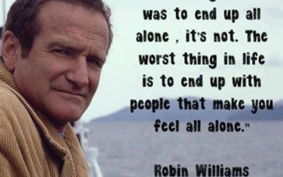 Good Bye Robin Williams, but Depression Lied to You.