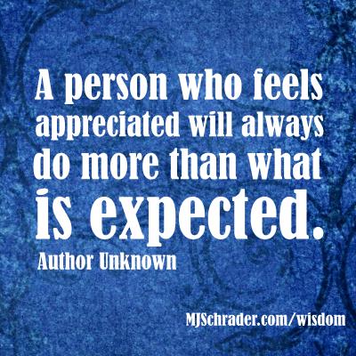 Appreciation Works