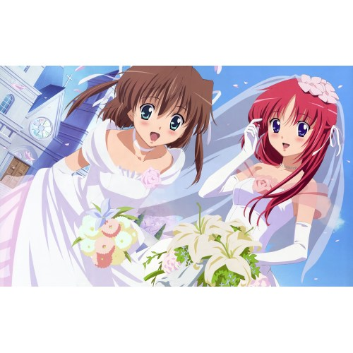 Medium Crop Of Anime Wedding Dress